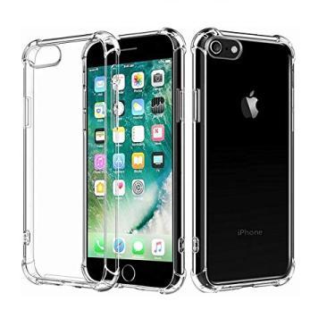Capa Case Armadura Blindada Iphone 5 6 7 8 Plus X Xr Xs Max (Iphone 7 8 - Dourado)