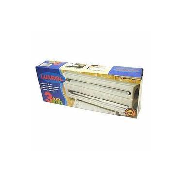 Porta Rolos De Papel Toalha Aluminio Filme PVC Fácil Corte
