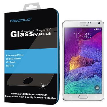 4e79299ee Película Mocolo - Full Cover - em Vidro Temperado 0.3mm para Samsung Galaxy  Note 4