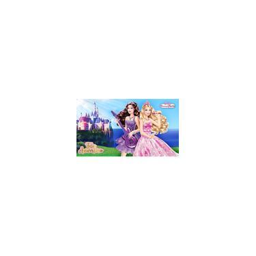 Imagem de Painel De Festa Infantil Em Tecido Tema Barbie 6