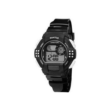 fc0ef23b0f3 Relógio Masculino Clubes Technos Santos Digital Esportivo Sfc13615 8c