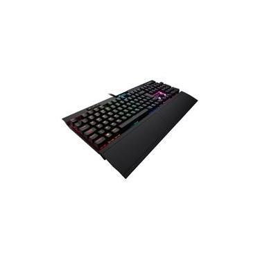 Teclado Mecânico Gamer Corsair K70 MK.2 Rapidfire, RGB, Switch Cherry MX Speed, ABNT2 - CH-9101014-BR
