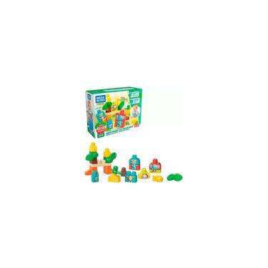 Imagem de Amigos do Safari Mega Blocks Fisher-Price 30 pçs GPT75 - Mattel