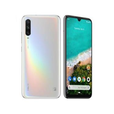 Smartphone Xiaomi Mi A3 4GB Ram Tela 6.08 64GB Camera Tripla 48+8+2MP - Branco