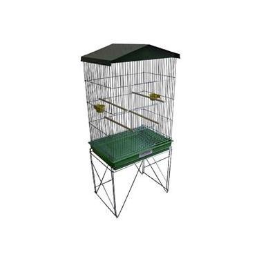 Imagem de Viveiro Grande Para Pássaros Calopsita Canário Cor Verde