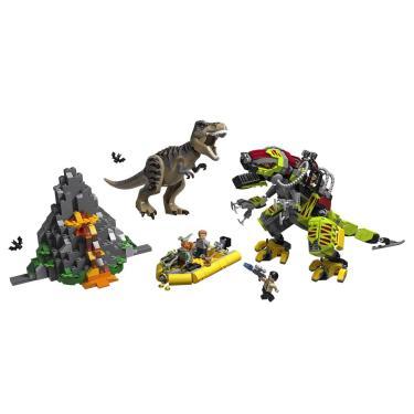 LEGO Jurassic World - T.Rex vs Robô Dinossauro