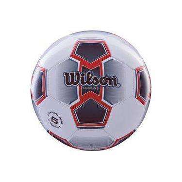 2d307c8c7e Bola de futebol de campo Illusive II N.5 Vermelha Wilson