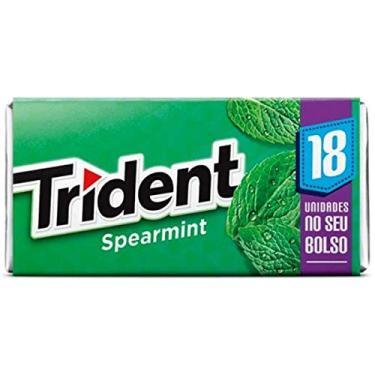 Goma de Mascar Spearmint 18S Trident 30,6g