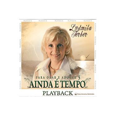 Imagem de CD - Pastora Ludmila Ferber - Ainda é Tempo - Playback