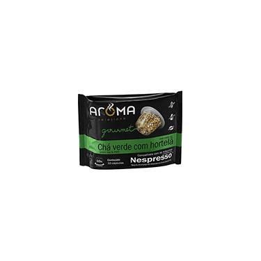 Cápsulas de Chá Verde Com Hortelã Aroma Selezione Compatível Nespresso - 10 Unidades