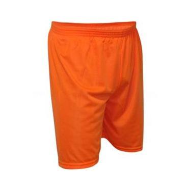 Calção Futebol Kanga Sport - Calção Laranja - M