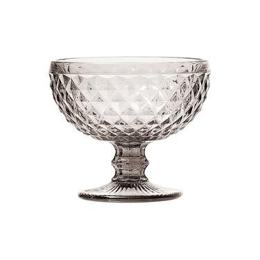 Jogo de Taças para Sobremesa Lyor Bico de Abacaxi Transparente 310 ml - 6 peças