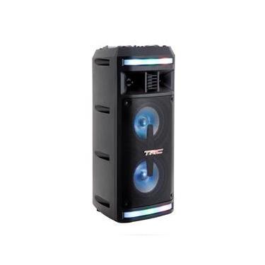 Caixa de Som Amplificada TRC 335 com Bluetooth, Rádio FM, Entrada USB e Controle Remoto – 200W