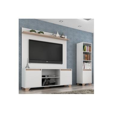 Rack com Painel para TV e Estante 1,83m Benevello 2037 Quiditá