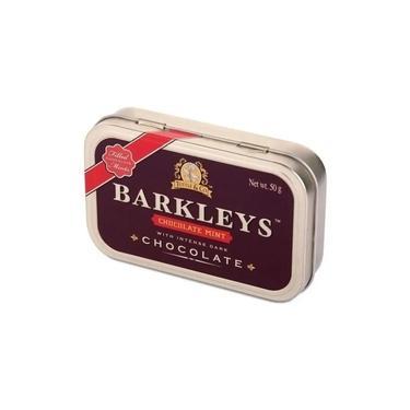 Bala Pastilha Chocolate Menta Barkleys 50g -Importado Holanda
