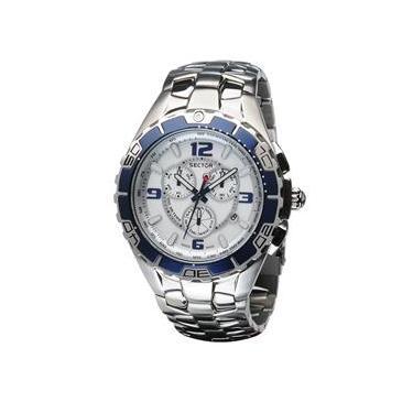 b4f349bc740 Relógio Masculino Analógico Sector WS30090F - Prata
