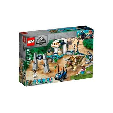LEGO Jurassic World - Fúria do Triceratops - 75937