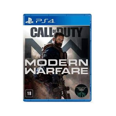 Jogo - Call Of Duty Modern Warfare - PS4