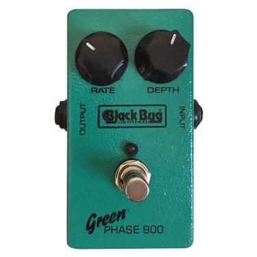 Pedal De Efeito Para Guitarra Black Bug Green Phaser Tgp