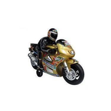 Imagem de Moto Racer Com Piloto 703 Lider