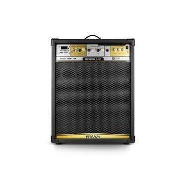 Caixa Amplificada Multiuso Frahm MF800 APP 700w RMS Bluetooth, USB, SD Card e FM