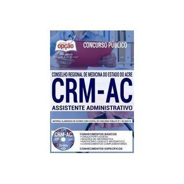 Imagem de Apostila Crm Ac 2019 - Assistente Administrativo Do Crm Acre