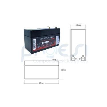 Bateria Selada Rontek 12V / 1,3A (RT12V1,3)