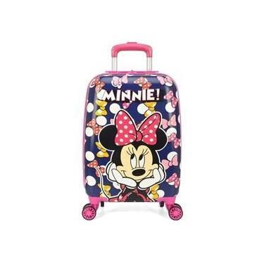 Mala Escolar Infantil Minnie 360°Graus - 10265