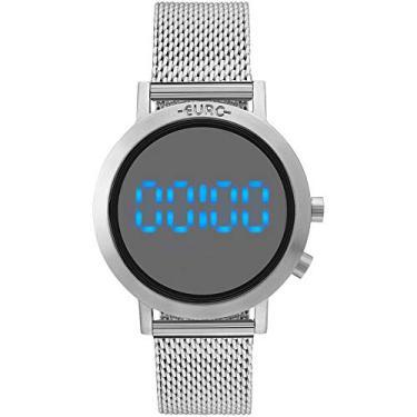 9e42380611 Relógio Feminino Euro Fashion Fit EUBJ3407AB 3P - Prata
