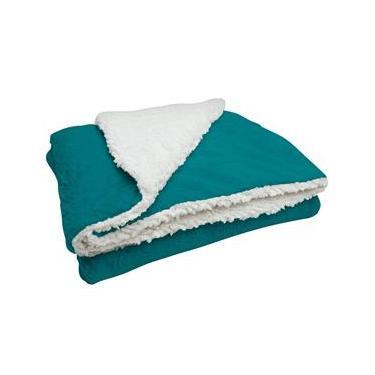 Cobertor Soft Bebê Dupla Face Macio Microfibra