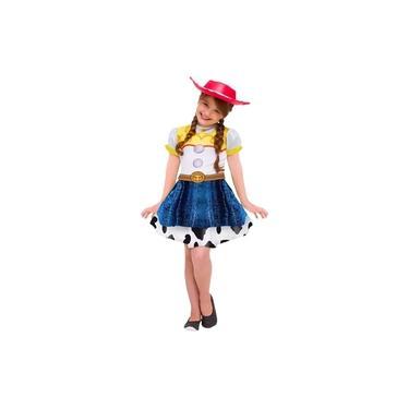 Imagem de Fantasia Toy Story Infantil Vestido da Jessie Com Chapéu