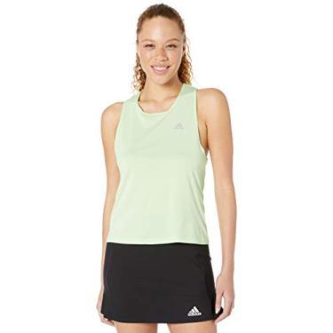 Regata feminina Adidas Club Tie, Glow Green, Large