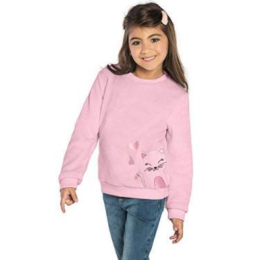 Casaco Infantil Pelinho Rovitex Kids Rosa 4
