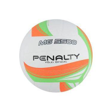 c65b08fa0f Bola de Voley Penalty MG 5500 VII Branco Laranja Verde
