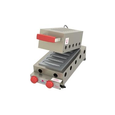 Máquina A Gás Para Crepes Suíço Prk-60 G Progás