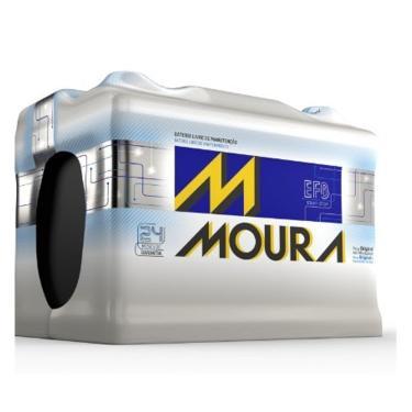 Bateria Automotiva Moura 48AH M48FD MGE - Preto