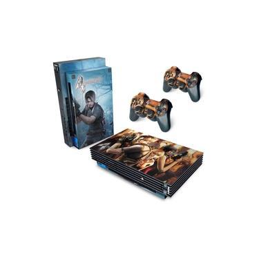 Skin Adesivo para PS2 Fat - Resident Evil 4