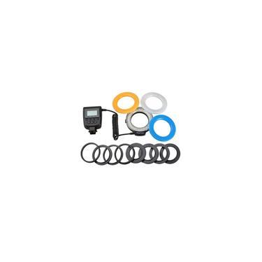Imagem de Macro LED Ring Flash Light Para Canon Para Nikon Para Panasonic Para Câmera Pentax