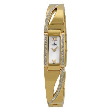 0c8526268da Relógio Bulova Cristal Feminino 98V28