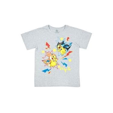 Camiseta Juvenil Pokémon Pikachu Fantasia X Y