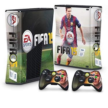 Skin Adesivo para Xbox 360 Slim - Fifa 15