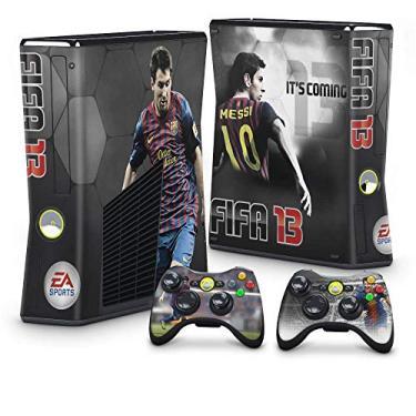 Skin Adesivo para Xbox 360 Slim - Fifa 13