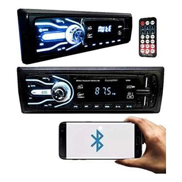 Imagem de Aparelho Som Automotivo Rádio Bluetooth Usb e Leitor Sd Card AM/FM