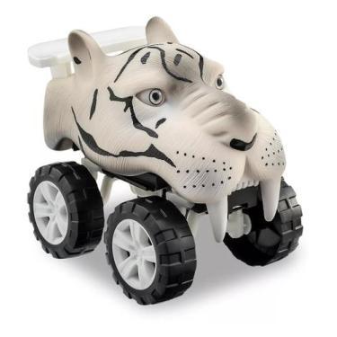Imagem de Brinquedo Carro Carrinho Tigre Animals Off Road - Usual - Usual Brinqu