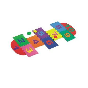 Imagem de Jogo Amarelinha 14 peças - NIG Brinquedos
