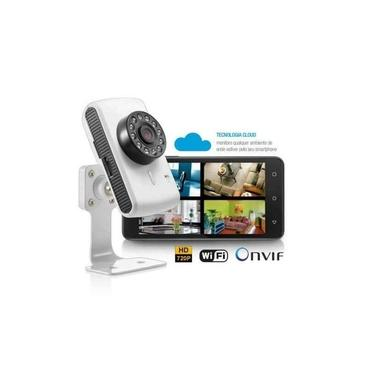 Kit 4x SE137 Câmera Ip Wireless Wifi Multilaser Plug And Play Led Noturna IR Resolução HD 720p