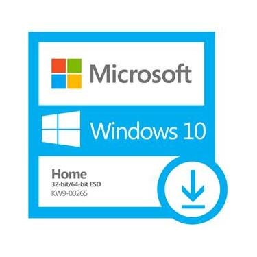 Microsoft Windows 10 Home 32/64 Bits ESD KW9-00265 Download