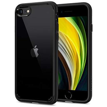 Spigen Capa Ultra Hybrid 2 Projectada para Apple iPhone SE (2020) / iPhone 8 / iPhone 7 - Preto