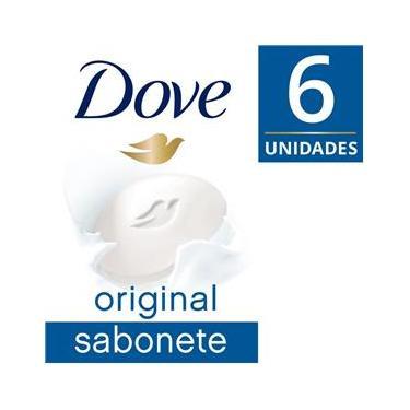 Imagem de Sabonete em Barra Dove  Branco 90g 6 unidades