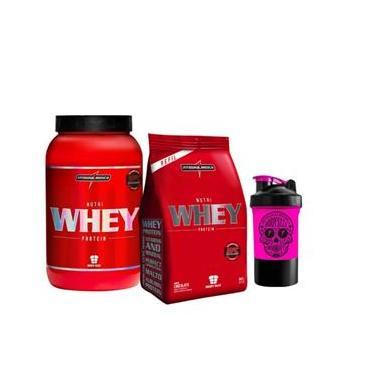 0dfc2ab0e Combo Nutri Whey Protein 907g + Refil + Coqueteleira Integralmédica -  Feminino